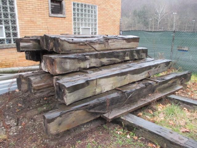30 wood beams 12 x 12