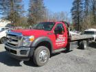 2014 Ford F550 Super Duty XL- 21,710 miles -19' Jerr-Dan flat bed roll back - 6.8L V10 Engine- VIN: 1FDUFSGYXEEAA62472