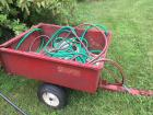 Red devil load hog trailer – how is included – approximately 3'x 5'