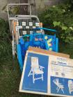 Large Lot of various folding chairs/beach chairs