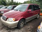 RED 2003 KIA SEDONA