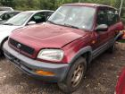 RED 1997 TOYOTA RAV 4