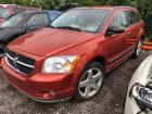 ORANGE 2007 DODGE CALIBER
