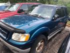 BLUE 2001 FORD EXPLORER