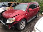 RED 2008 MERCURY MARINER