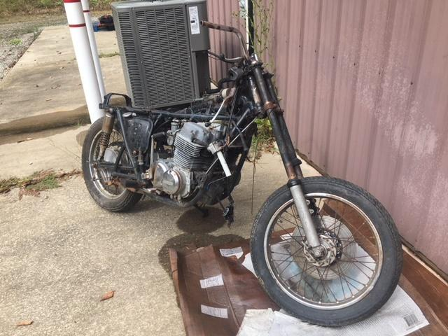 Honda CB750 Parts Bike - Engine seized * no title - bill of