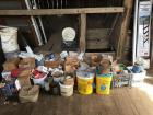Large lot: nails-screws-bolts-nuts-breakers, drill bits- etc..