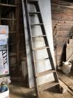 Old 8' wooden ladder - poor condition