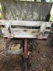 Metal framed Wagon- No bottom and sides will need replaced or it can be scraped.