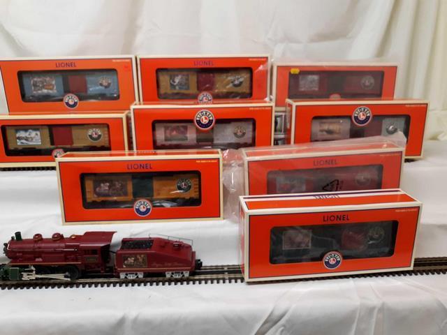 Thomas Christmas Train Set.Angela Trotta Thomas Christmas Train Set All New In Box