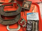 Various C clamps-muffler clamp-steering wheel puller