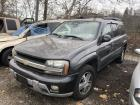 GRAY 2005 CHEVROLET TRAILBLAZER